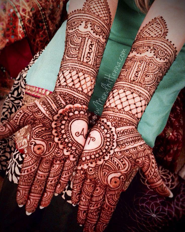 Best 25+ Bridal Henna Ideas On Pinterest | Bridal Henna Designs Henna Art Designs And Bridal Mehndi