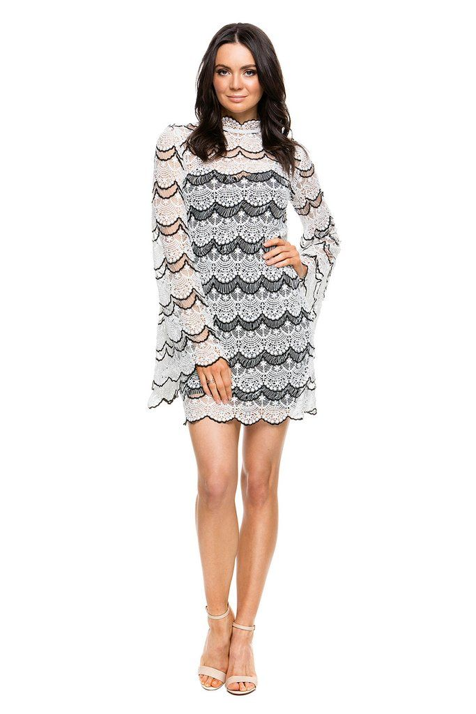 DESIGNER DRESS HIRE AUSTRALIA  - Charm the crowds in the Dark Tides Dress by ASILIO! RRP: $370 - & yours to rent for only a fraction of the cost! What's not to love? #dresshire #designerwear