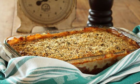 Maggie Beer's Lamb Mince Moussaka
