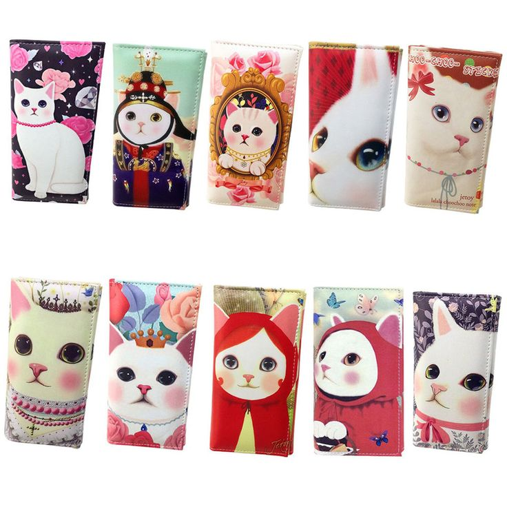 New Jetoy Choo Choo Cute Cat Character 18cm 7in Wallet Pouch Gift 10 Type #Jetoy