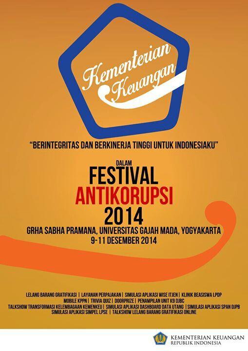 Festival anti korupsi 2014
