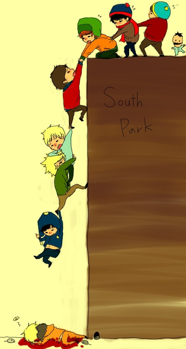South Park ~ hang on!