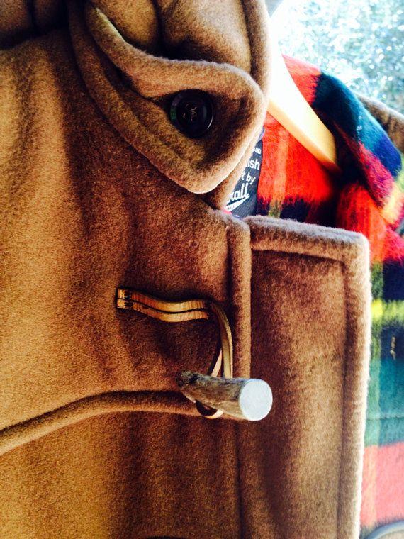 Vintage Long Brown Duffle Coat on Etsy, $350.00 AUD