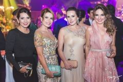 Márcia Travessoni, Maira Silva, Roberta Nogueira e Eveline Fujita