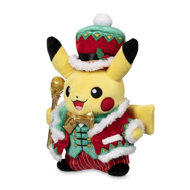Pokemon Center Christmas 2021 Official Pikachu Pokemon Holiday Extravaganza Pokemon Plush 9 In In 2021 Pokemon Plush Pokemon Pikachu Plush