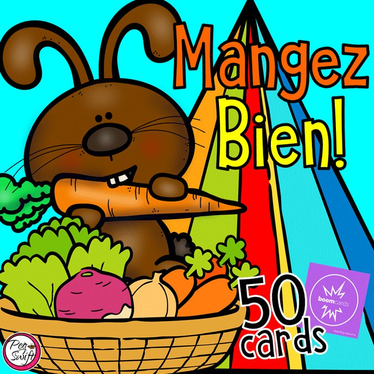 Boom Cards - FRENCH Food Groups and Healthy Eating