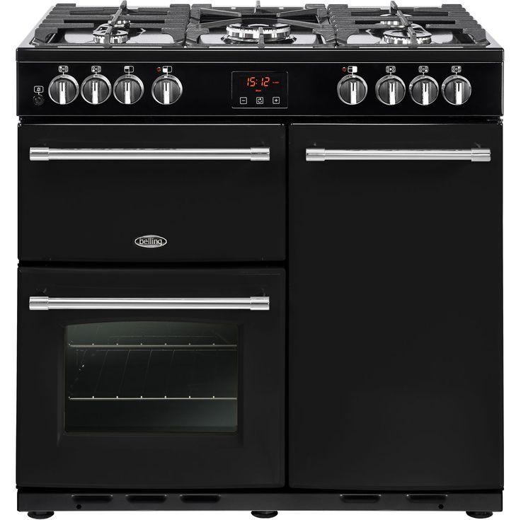 Farmhouse90DFT_BK  Belling Range cookers   Black   ao.com