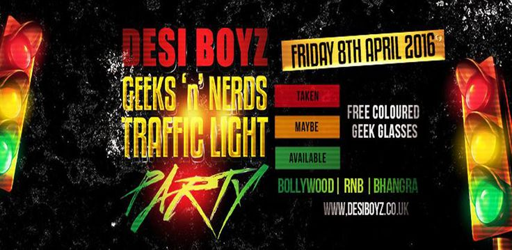 Buy tickets for Desi Boyz Traffic Light Party from OutSavvy. Quick, simple, secure booking for LGBT events. Discover other gay and LGBT events in London.