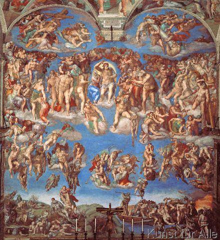 Michelangelo Buonarroti - Das Jüngste Gericht