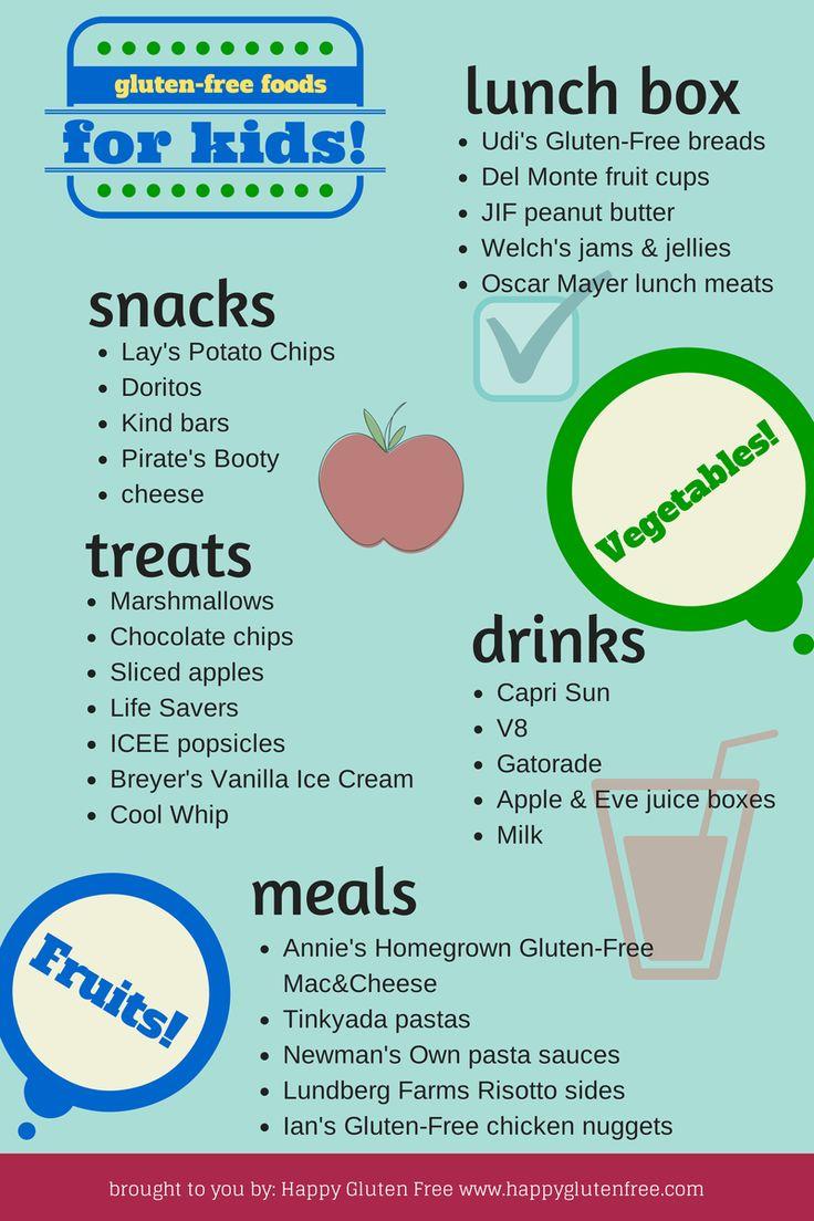 Gluten-Free Foods for Kids! | Gluten free recipes, Udis ...