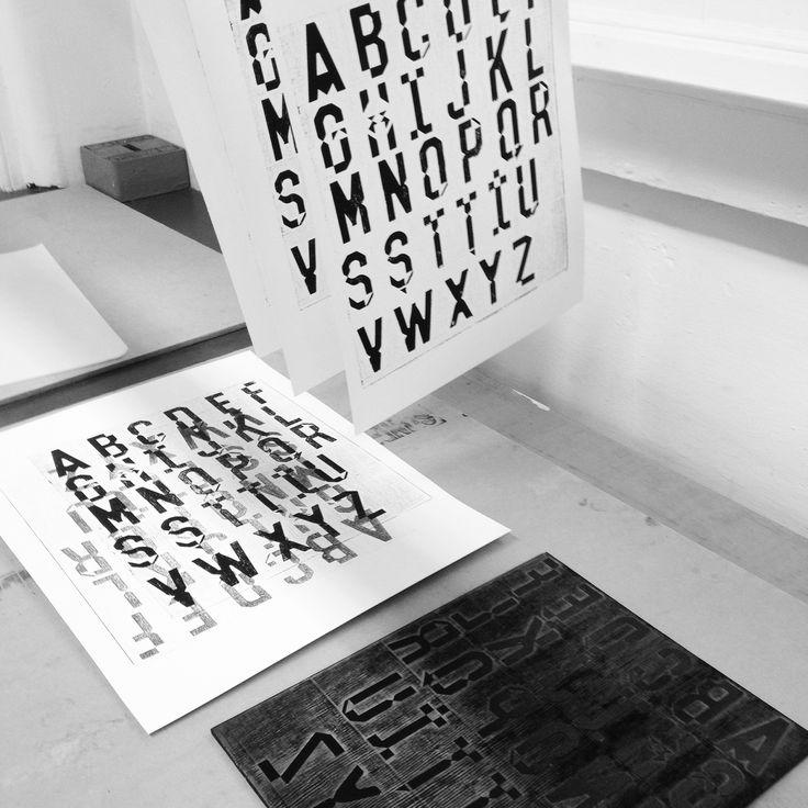 Printmaking experiment 2