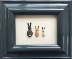 Available at http://www.pebbleartpictures.co.uk/pebble-art-gift-shop/ Pebble Art Pictures Rabbits