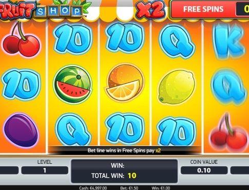 SlotsPay   Игровые аппараты на деньги с выводом Fruit Shop онлайн - http://slotspay.mobi/fruit-shop