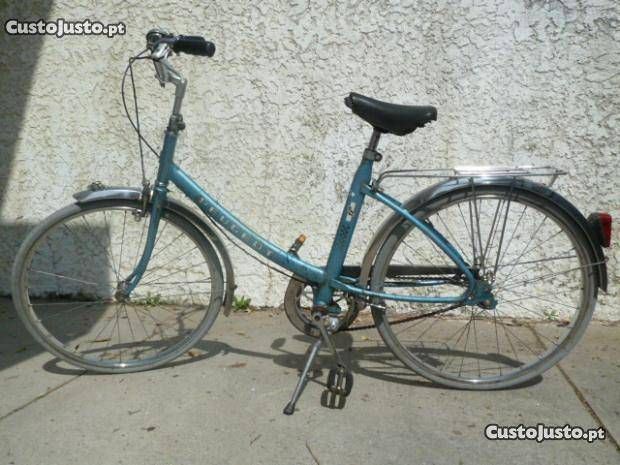 Bicicleta Antiga de Senhora (Peugeot NS 600) - à venda Bicicleta, Braga - CustoJusto.pt 150€
