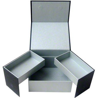 Drawer Paper Box - ideal für Sets aus Kette oder Armband mit Ohrringen und Ring. Gefunden auf