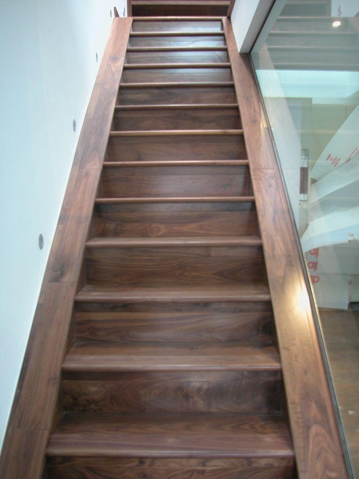 Walnut Wood Staircase Installed By Jordan Andrews Ltd