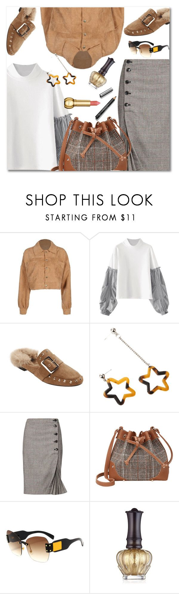 """""""Untitled #471"""" by dzenanlevic99 ❤ liked on Polyvore featuring Banana Republic, Anna Sui and Burberry"""