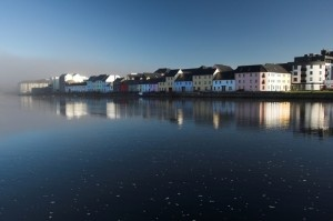 Galway, ireland - a crisp Irish Morning along the west coast of Ireland