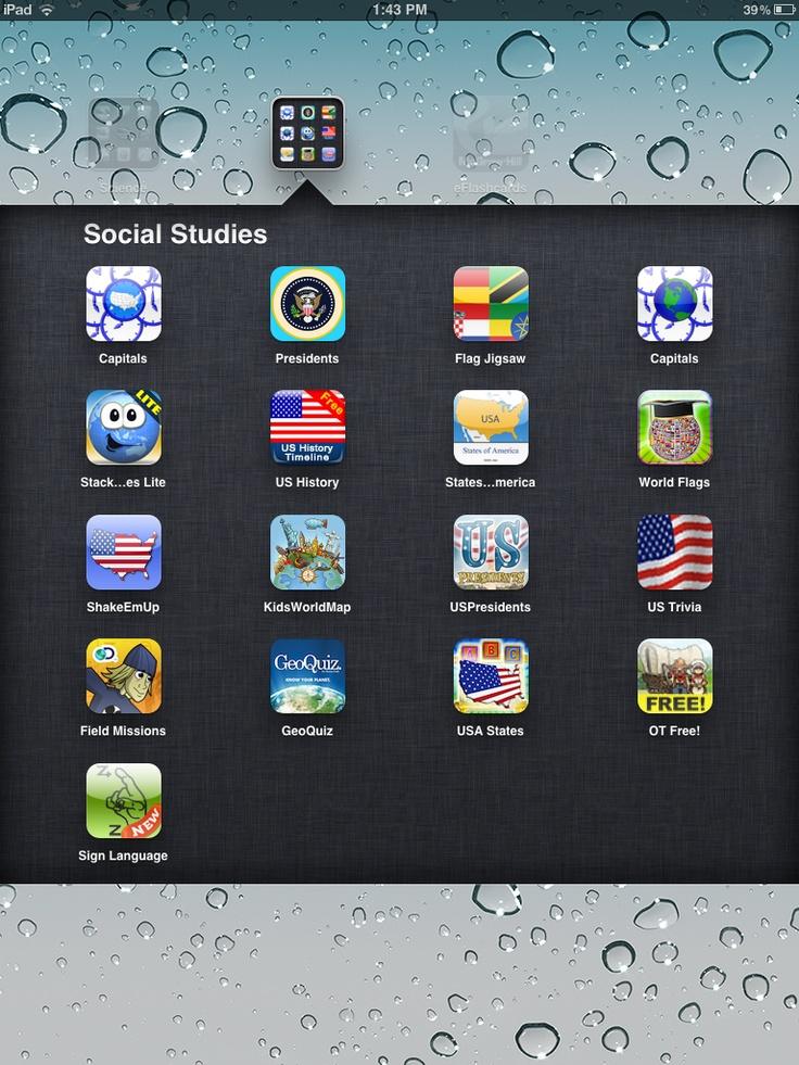 Screen shots - Apps for Elementary - Social Studies