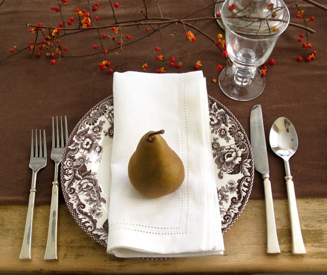 Jenny Steffens Hobick: thanksgiving table setting.  How beautiful.