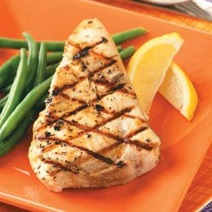 Grilled Rosemary Swordfish Recipe | Taste of Home Recipes