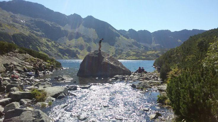 Dolina Pięciu Stawów ujście do Wodospadu Siklawa