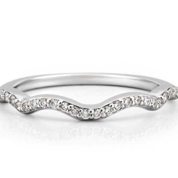 Infinity Wedding Band In 2020 Infinity Engagement Ring Infinity Wedding Infinity Wedding Band