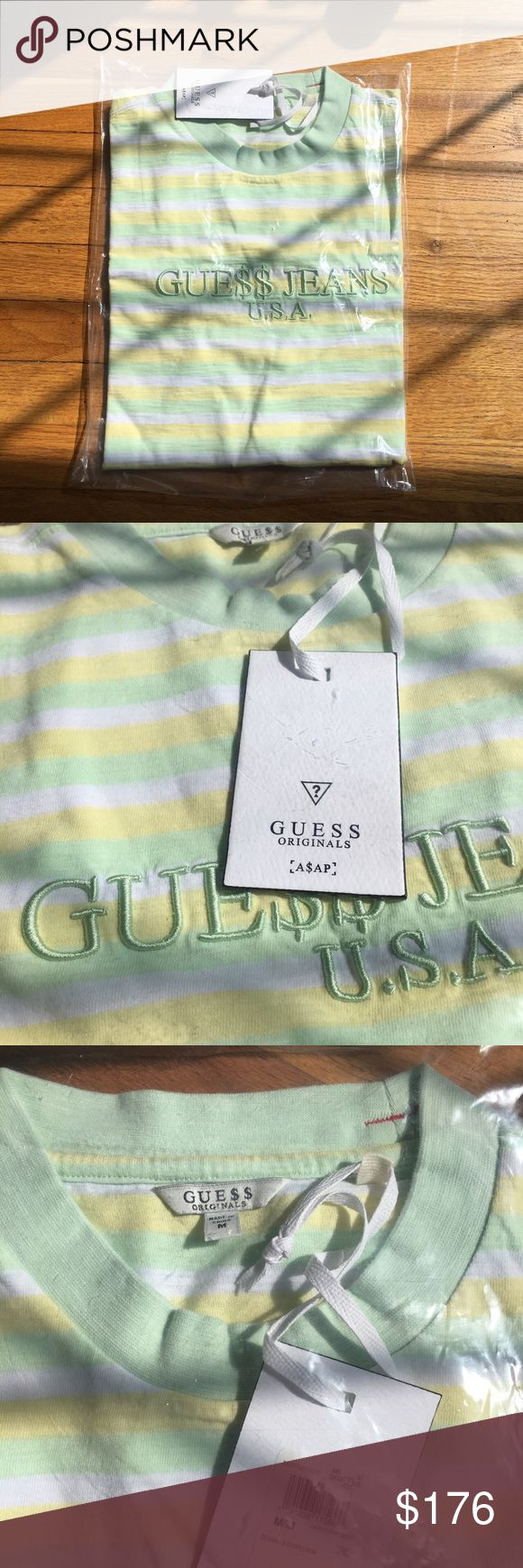 asap rocky x guess originals brand new never been. deadstock with tags. could fit a large Shirts Tees - Short Sleeve