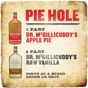 Dr. McGillicuddy's. Recipes for success.