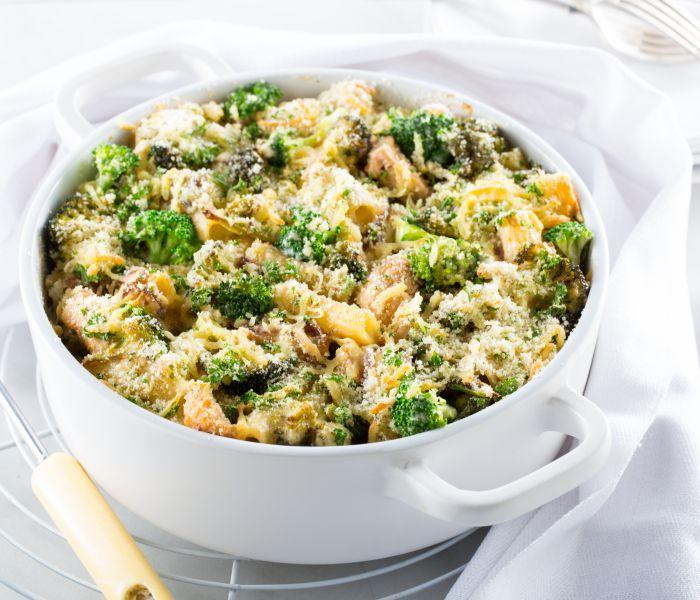 LeaderBrand Broccoli Pasta Bake