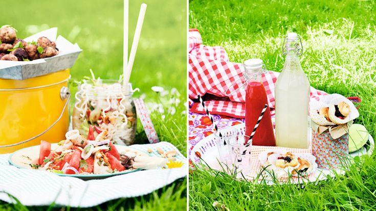 Packa för picknick! 5 goda recept