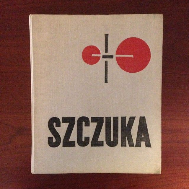 Mieczysław Szczuka (1898-1927), a monograph of the Polish Constructivist, Wydawnictwa, Artystyczne, i Filmowe, Warsaw, 1965 via @alexcamlin