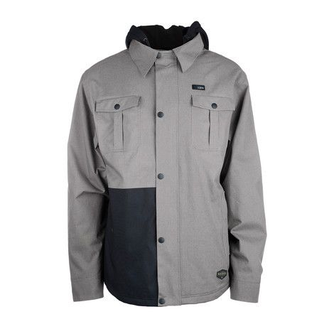 3CS Baltimore Men's Snowboard Jacket - Moonrock - Products - Boardworld