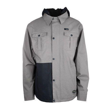 3CS Baltimore Men's Snowboard Jacket - Moonrock - Products - Boardworld