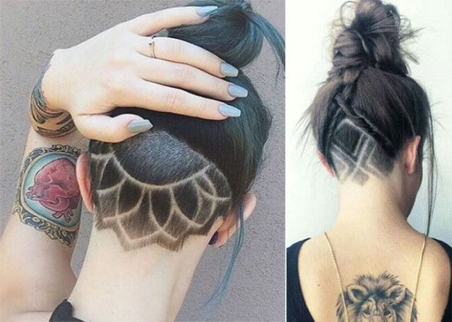 This woman has an undercut. Check out 12 other different types of haircuts.