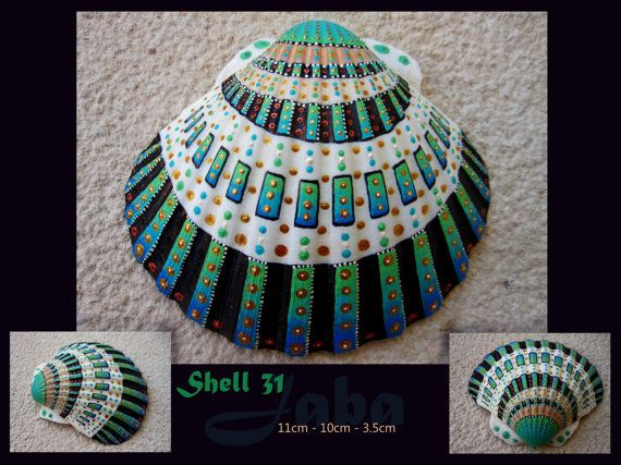 Shell 31, handpainted shell by Jaba (SOLD)