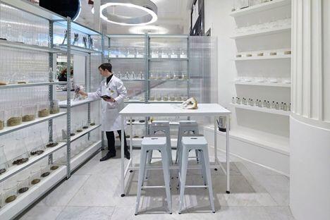 Fragrance lab, Selfridges