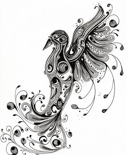 Si Scott influenced phoenix  http://www.siscottstudio.com/