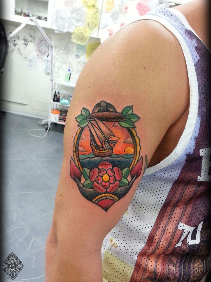 Done at Officina Tattoo & Piercing Studio Milano.