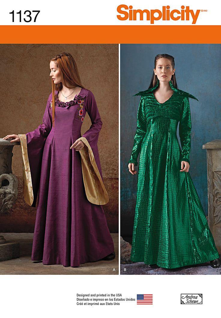 SImplicity 1137, Sansa Stark costumes