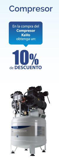 Obtenga un 10% de #descuento en la compra del Compresor KaVo