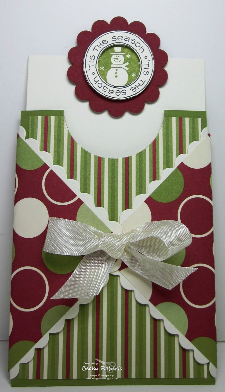 Christmas Pull Up Card