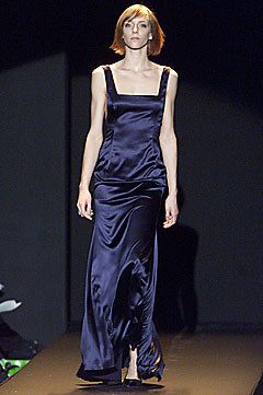 Carolina Herrera Fall 2001 Ready-to-Wear Fashion Show - Carolina Herrera, Danita Angell