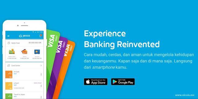 Cara Membuka Rekening Jenius Dengan Kartu Debit Visa M Card Dan X Card Alam Google Play Hidup