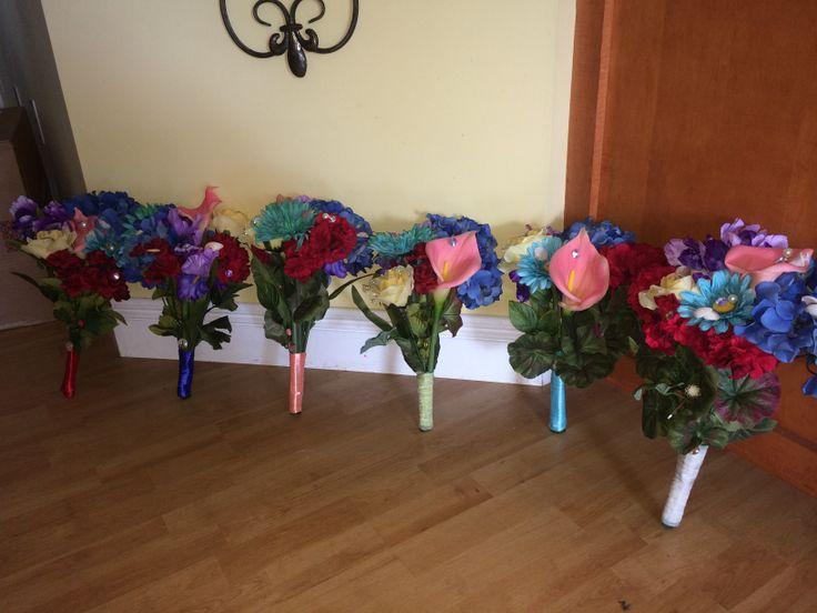 I made my maids flowers!