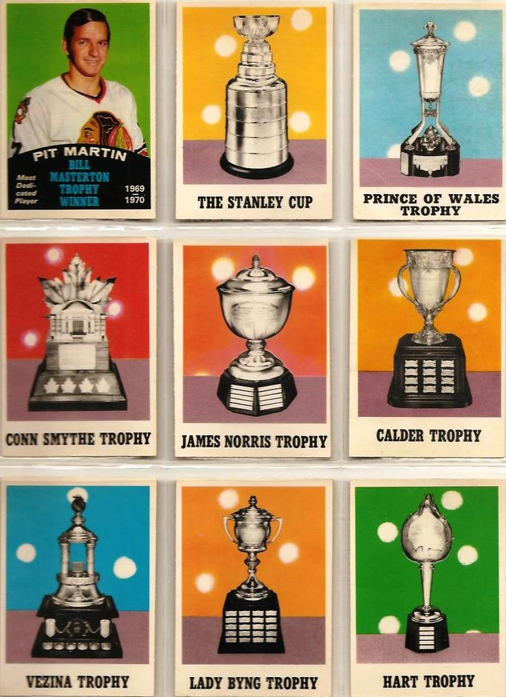 253-261 Pit Martin (Bill Masterton Trophy), Stanley Cup, Prince of Wales, Conn…