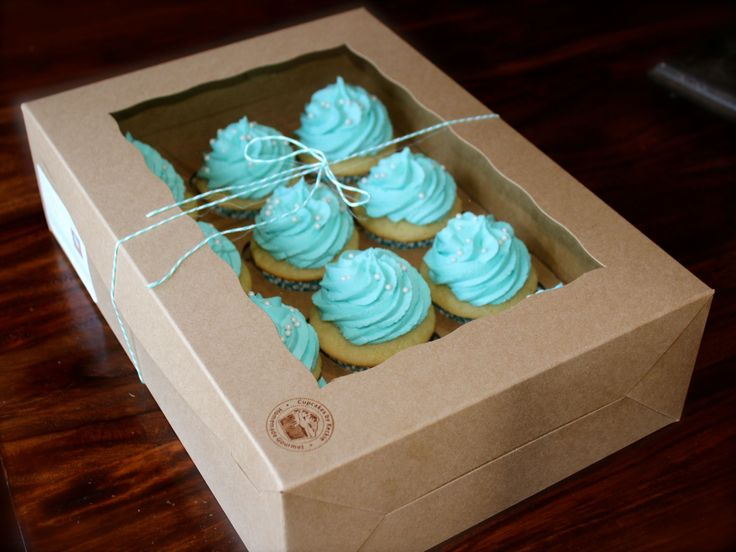 Decorative Cupcake Boxes 12 Best Muffin Packaging Images On Pinterest  Cup Cakes Muffin