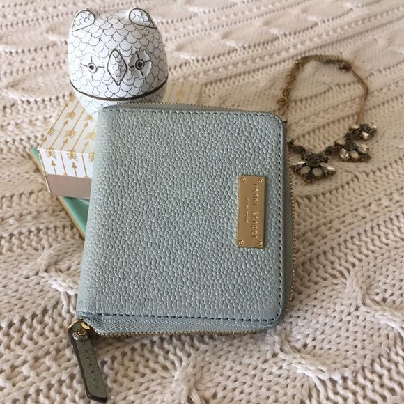 Henri Bendel Bags - Henri Bendel Carlyle Mini Wallet in Mint