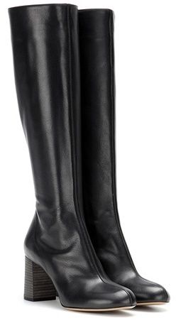 Chloé Harper Leather Knee-high Boots