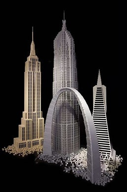 Lego Architecture at the   National Building Museum  by Adam Reed Tucker